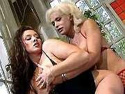 Lewd girl rides horny trannys dick
