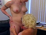 Hot redhead shemale foreplay w girl