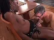 Tranny n man suck n fuck each other