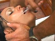 Exotic tranny made her partners cum