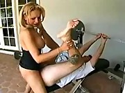Mature shemale fucks guy