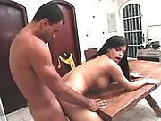 Horny shemale honey gets screwed in shemale xxx movies