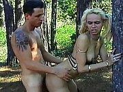 The horny slut loves rough fucking