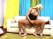 Sexy shemale loves to taste rods in free tranny porn